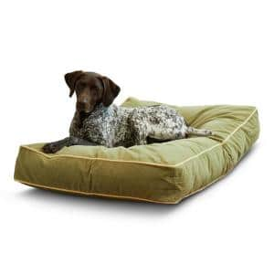 Buster Medium Moss Dog Bed