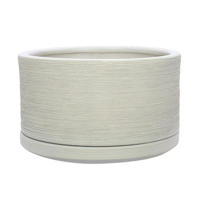 Liesl 5.9 in. x 3.5 in. Beige Ceramic Pot