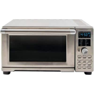 Bravo XL 1800 W 4-Slice Stainless Steel Toaster Oven and Air Fryer