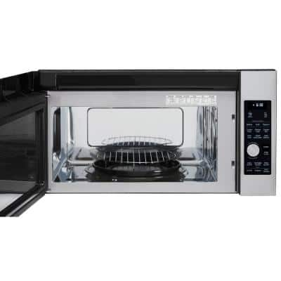 1.7 cu. ft. Over the Range Convection Microwave in PrintProof Stainless Steel with Sensor Cooking