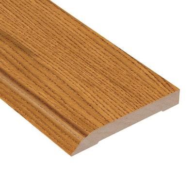 Oak Havana 1/2 in. Thick x 3-1/2 in. Wide x 94 in. Length Wall Base Molding