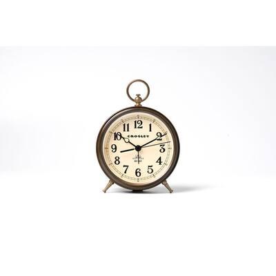 33328E- Vintage Bronze Metal Finial Alarm