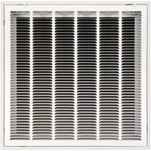 Architectural Grille Ag20 Series 4 In X 24 In Solid Aluminum Fixed Bar Supply Return Air Vent Grille Brushed Satin 200042401 The Home Depot