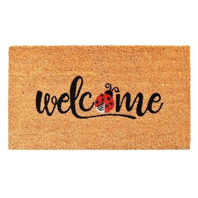 Welcome Ladybug Doormat