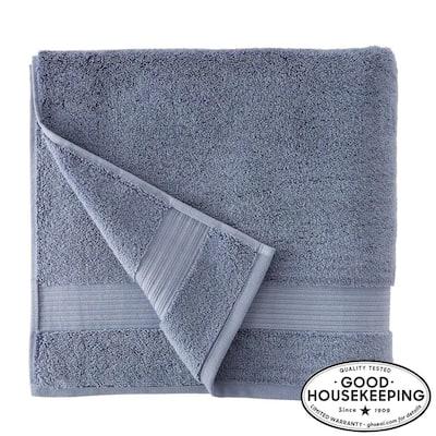 Egyptian Cotton Bath Towel in Steel Blue