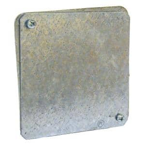 4 in. Gasketed Flat Blank Plenum Cover