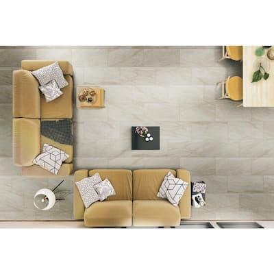Vigo Beige 24 in. x 12 in. Matte Ceramic Floor and Wall Tile (16 sq. ft. / case)
