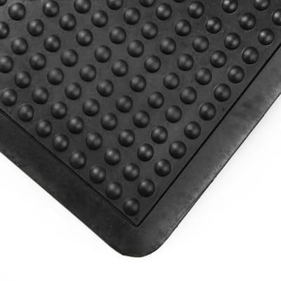 """Doortex® Anti-Fatigue Black Bubble Mat - 36"""" x 60"""""""