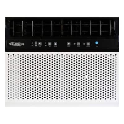 6,000 BTU 115-Volt Hybrid Window Air Conditioner with Remote White