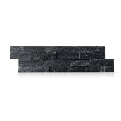 Coal Canyon 6 x 24 in. Natural Stacked Stone Veneer Panel Siding Exterior/Interior Wall Tile (10-Boxes/64.17 sq. ft.)