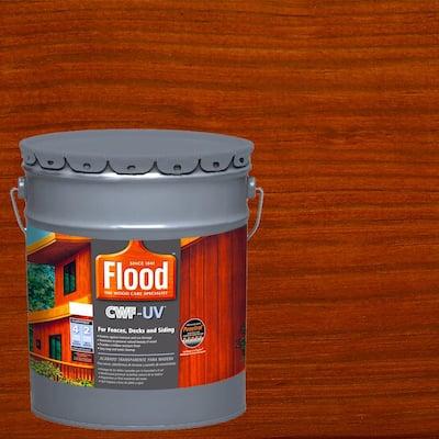 5 gal. Redwood Transparent CWF-UV Penetrating Exterior Wood Stain