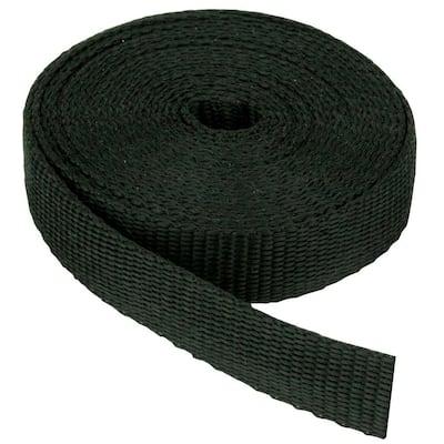 3/4 in. Webbing Strap, Black