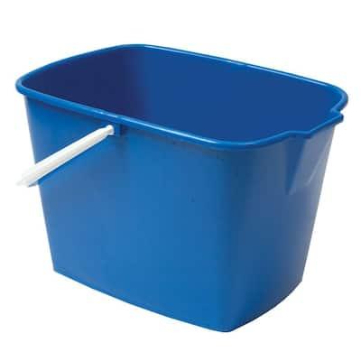 15 Qt. Heavy Duty Rectangular Utility Mop Bucket