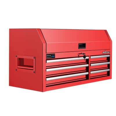 42 in. 6- Drawer Top Chest in Red