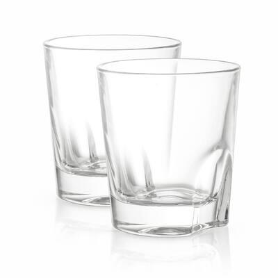 Carina 8.4 oz. Crystal Whiskey Glasses (Set of 4)
