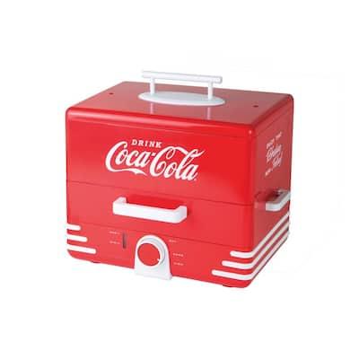 CKHDS206CR Large Coca-Cola Hot Dog Steamer