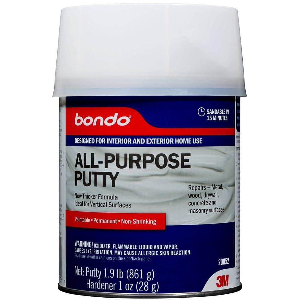 3M Bondo Home Solutions 1 qt. All-Purpose Putty