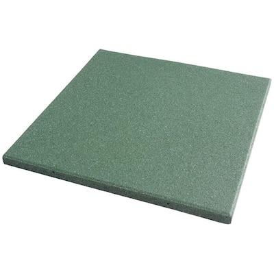Eco-Sport Green 3/4 in. T x 19.5 in. W x 19.5 in. L Interlocking Rubber Tiles (56 sq. ft.) (20-Pack)