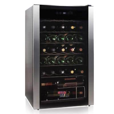 19.8 in. 34-Bottle Freestanding Wine Cooler