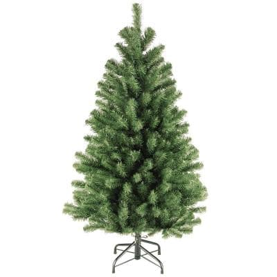 4.5 ft. North Valley Spruce Unlit Artificial Christmas Tree