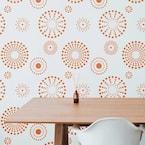 Kaleidoscope Wall and Floor Stencil