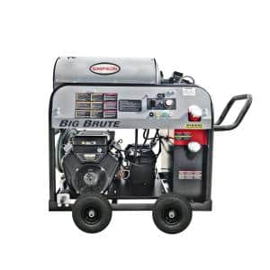 Big Brute 4000 PSI at 4.0 GPM VANGUARD V-Twin Hot Water Professional Gas Pressure Washer