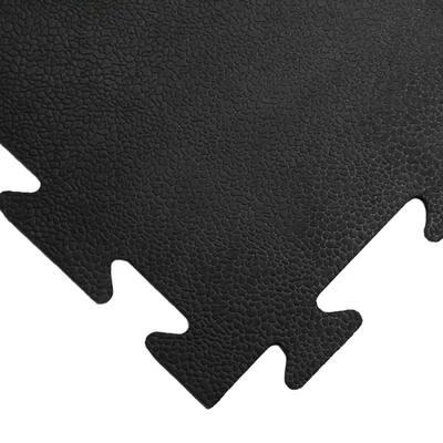 Armor-Lock (Fitness) 3/8 in. x 20 in. x 20 in. Black Interlocking Rubber Tiles (12-Pack, 33 sq. ft.)