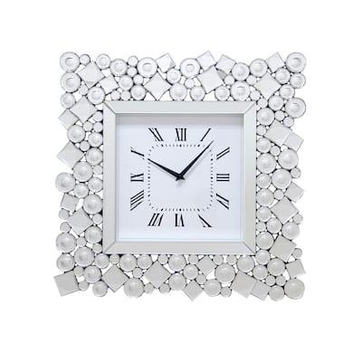 Saiyan Silver Wall Clock