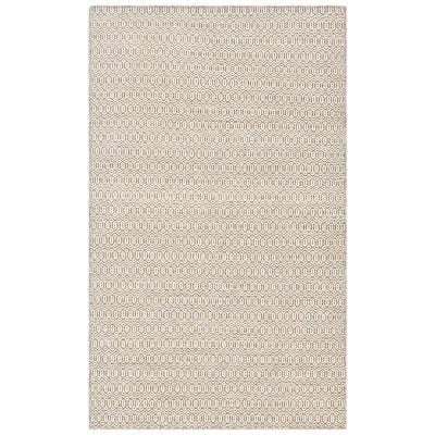 Chatham Contemporary Flatweave Brown 8 ft. x 10 ft. Hand Woven Area Rug