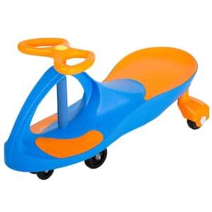 Blue and Orange Wiggle Car Ride On