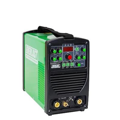 200 Amp Power i-TIG 201 IGBT Digital Inverter DC Stick/TIG Welder with High Frequency and Lift TIG Start, 120V/240V