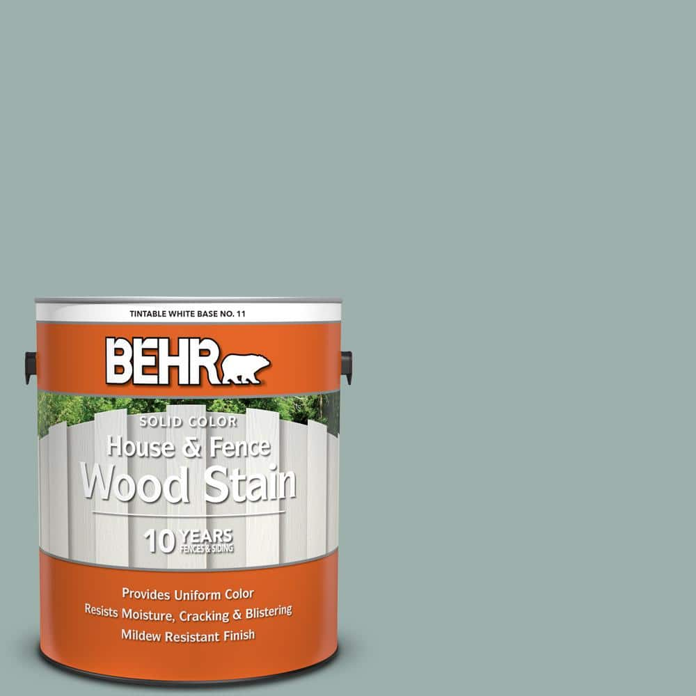 Behr 1 Gal N430 3 Garden Vista Solid Color House And Fence Exterior Wood Stain 01101 The Home Depot