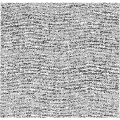 Sherill Modern Ripples Gray 8 ft. Square Rug