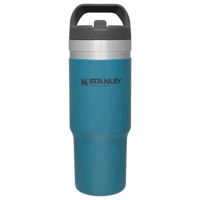 GO IceFlow 30 oz. Lagoon Stainless Steel Vacuum Insulated Flip Straw Tumbler