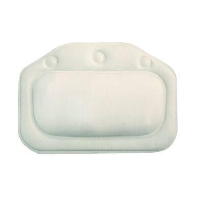 Bath Pillow in White