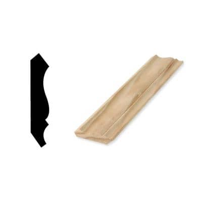 WM 52 9/16 in. x 2-3/4 in. x 96 in. Solid Pine Crown Moulding