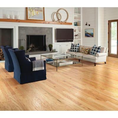 Bradford Oak Natural Oak 3/8 in. Thick x 3-1/4 in. Wide x Random Length Engineered Hardwood Flooring (23.76 sq.ft./case)