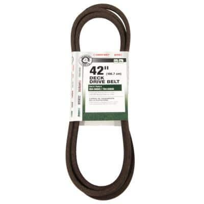 Original Equipment Deck Drive Belt for Select 42 in. Riding Lawn Mowers and Zero Turn Lawn Mowers OE# 954-04045
