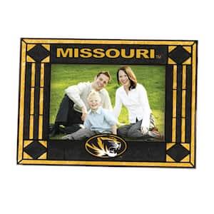 4 in. x 6 in. Missouri Gloss Multi Color Art Glass Picture Frame