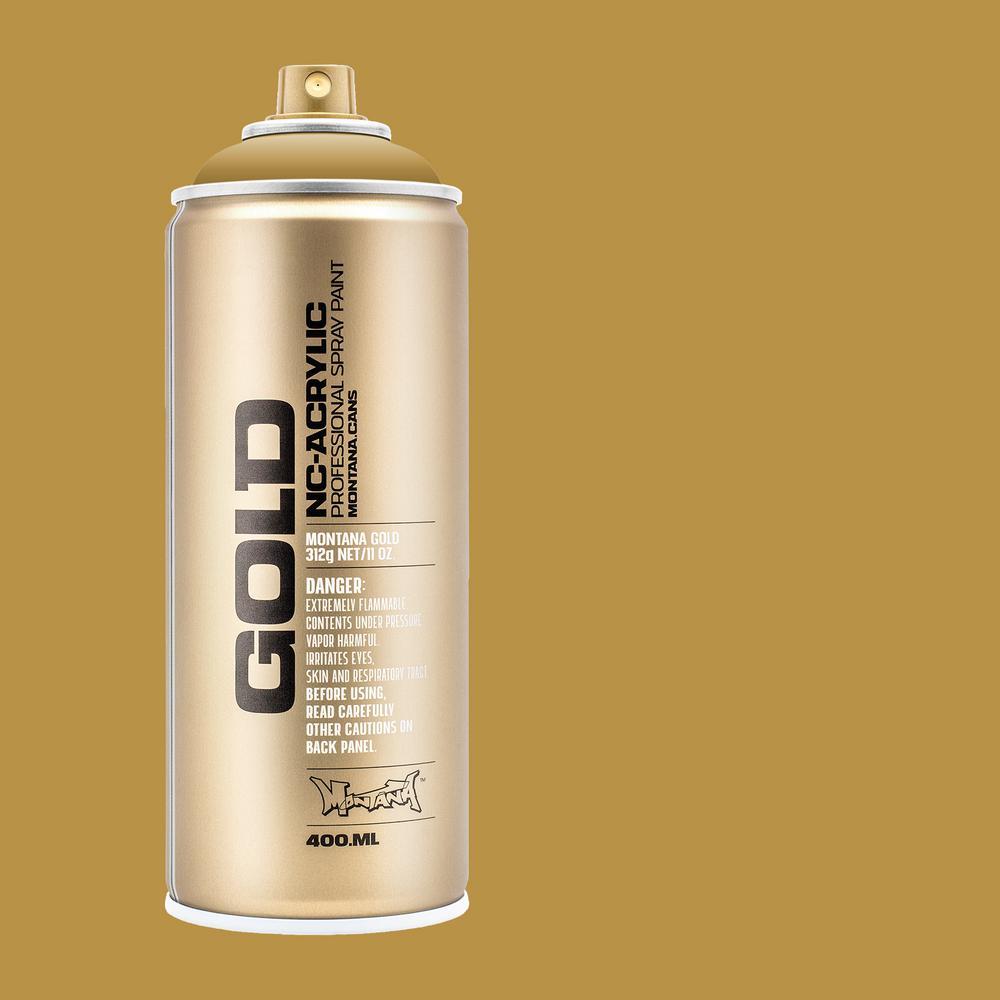 11 oz. GOLD Spray Paint, Sand