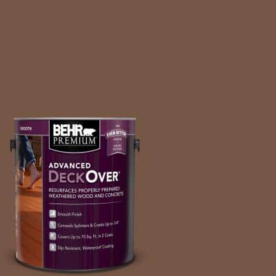 1 gal. #SC-129 Chocolate Smooth Solid Color Exterior Wood and Concrete Coating