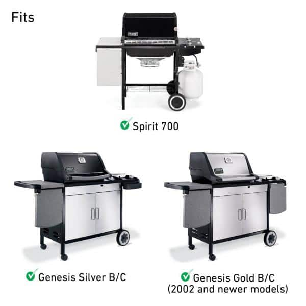 BBQ Grills Replacement Burner Tube For Weber Spirit 200 300 Series Genesis 300