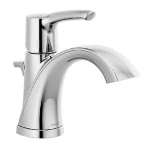 Parkwood Single Hole Single-Handle Bathroom Faucet with Pop-Up Assembly in Chrome