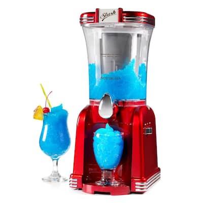 32 oz. Single Speed Retro Red Slush Drink Blender