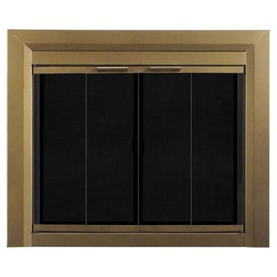 Carrington Large Glass Fireplace Doors