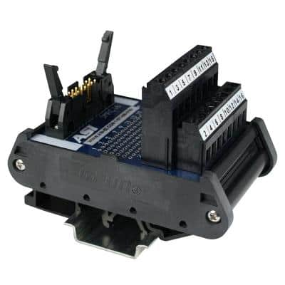 D-Sub Interface Module DIN Rail Mount 15-Pin Male