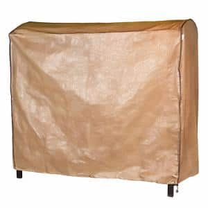 80 in. L x 57 in. W x 72 in. H Triple Seater Swing Cover Waterproof Outdoor Swing Glider Canopy Cover