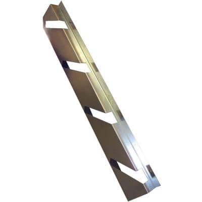 Cellar Door Stair Stringer Size SL 8.9 x 44.25 x 2.09 Galvanized Steel Stair Stringer 4 Tread