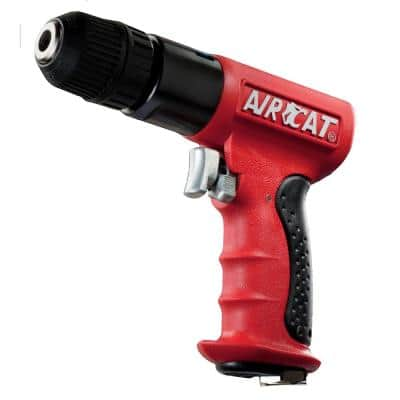 Composite 3/8 in. Reversible Drill with Keyless Chuck