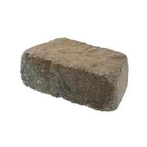 Beltis 4 in. x 11 in. x 6 in. Tan Charcoal Concrete Retaining Wall Block